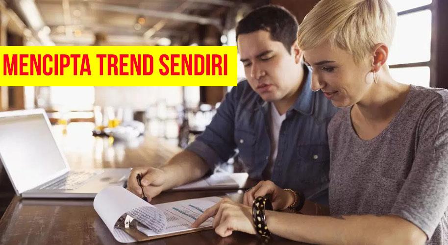 3 Langkah Mudah Untuk Menjadi Trendsetter